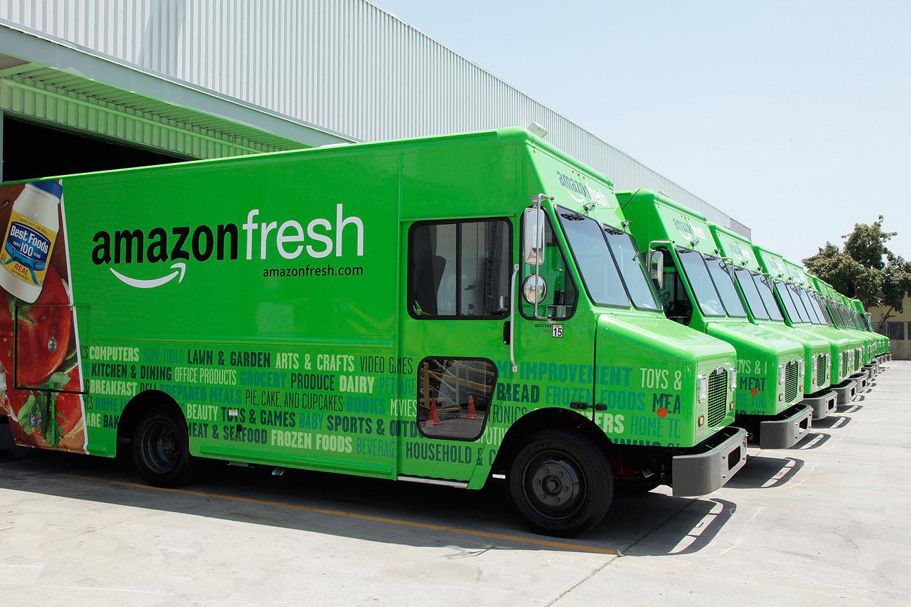 Amazon fresh & wholefoods